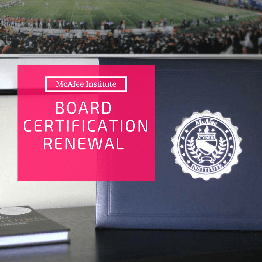 Board Certification Renewal