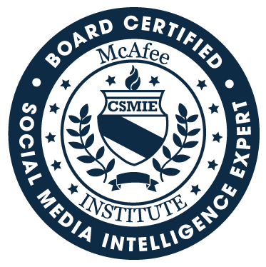 Certified Social Media Intelligence Expert (CSMIE)