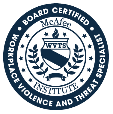 Certified Workplace Violence and Threat Specialist (WVTS)