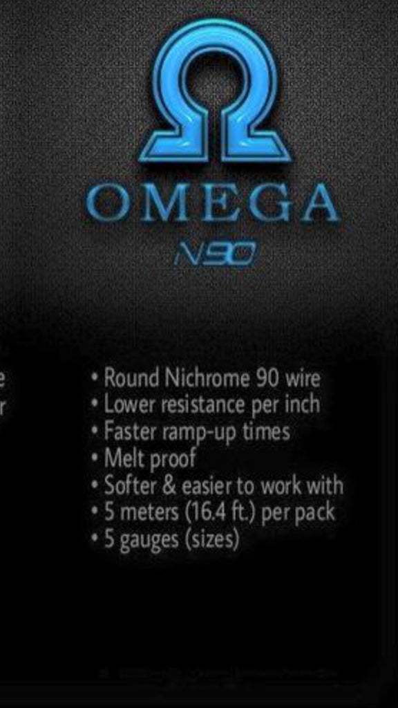Omega wires n90 round extremecloudsvapeshop extremecloudsvapeshopllc omega wires n90 round greentooth Choice Image