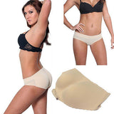 Molded Butt Enhancer Seamless Bikini Laser Cut No Stitch Booty Pop Fullness S-2X