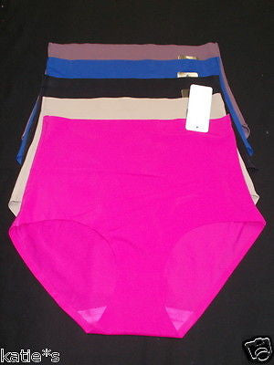 6 BRIEFS PANTIES GIRDLES SEAMLESS TUMMY CONTROL UNDIES Multi-Colors 87308 S-4XL