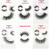 100% LUXURY 3D Mink Hair Natural Long Eye Lashes False Eyelashes