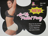 BUTT ENHANCER BIKINI BOOSTER AIR HOLE PIPPA  MOLDED PADDED PANTIES UNDIES S - XL