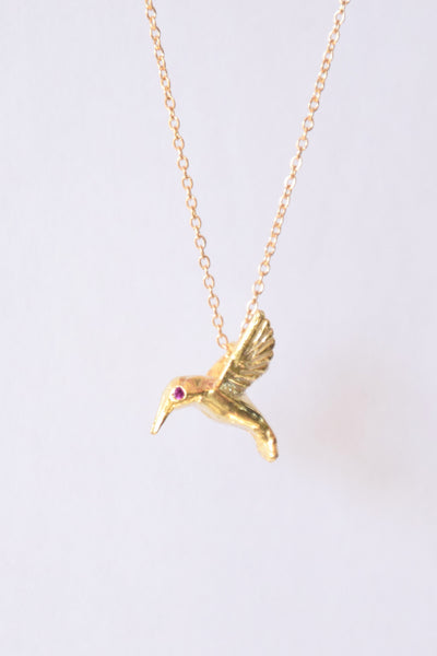 """Giving Birds"": Benefitting Susan G. Komen (Genuine Pink Sapphires)"