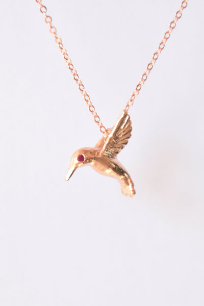 """Giving Birds"": Benefitting Kind Campaign (Genuine Rubies)"
