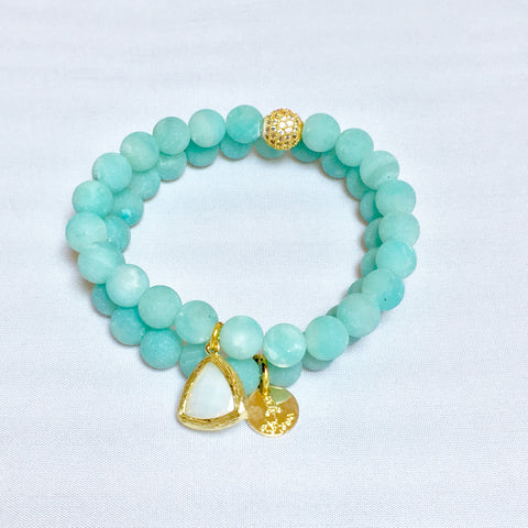Amazonite Double Stack