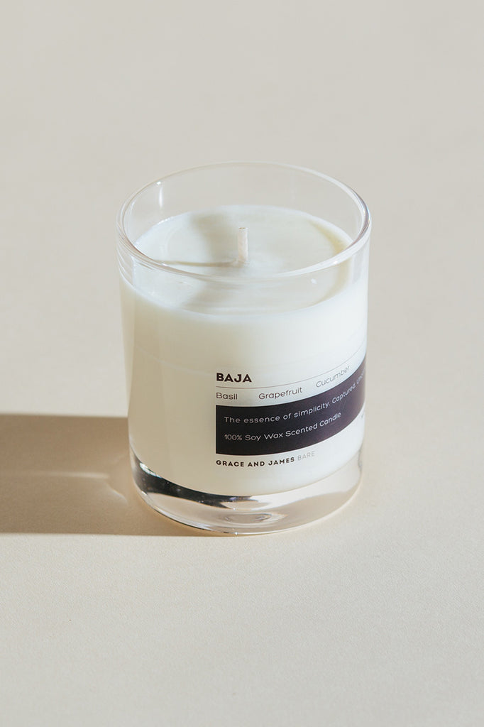 Grace & James Bare Candle - Baja