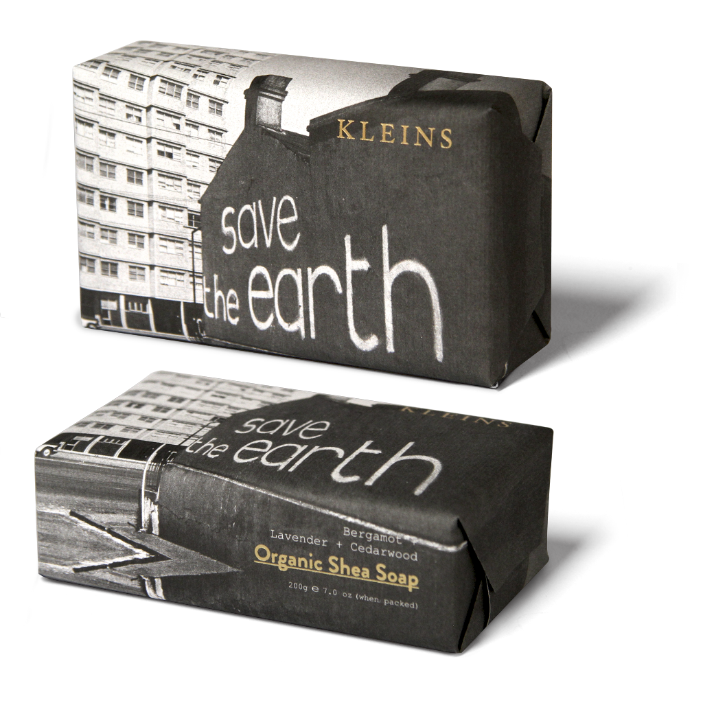 Kleins Save The Earth Organic Shea Soap