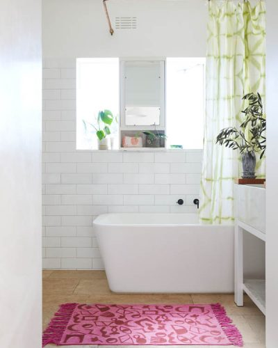 Bathroom - White Nest
