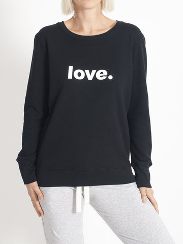 Organic Crew Boyfriend Sweater LOVE