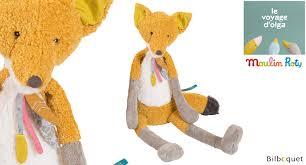 Moulin Roty large fox teddy