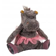 Moulin Roty Camelia the Hippo stuffed toy
