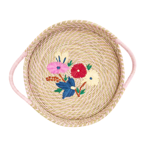 Rice Australia raffia bread basket