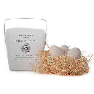 Plain & Simple Duck Egg Soap