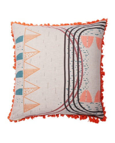 Lumiere lyrical landscape cushion