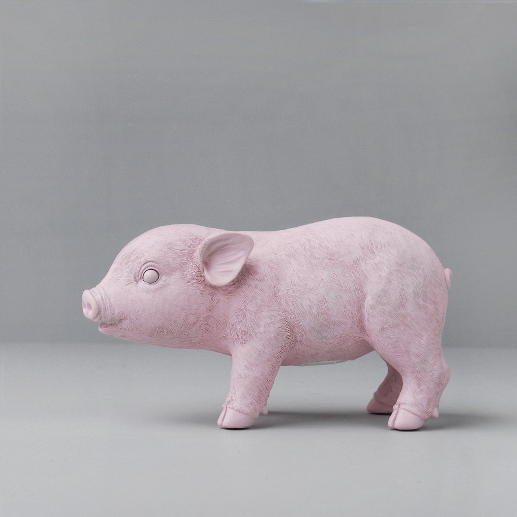White Moose - Pig Money Box - Pink