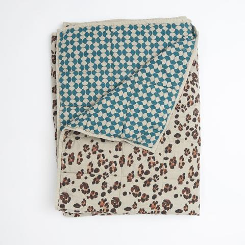 Society Of Wanderers double sided cot quilt