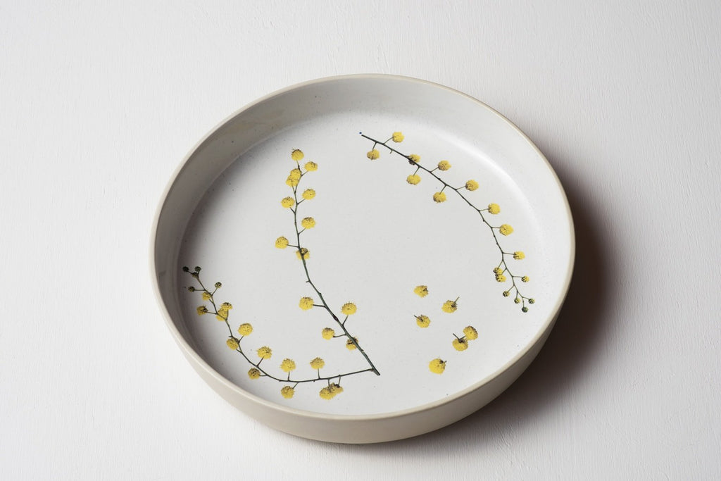 Wattle Sprigs Server Bowl