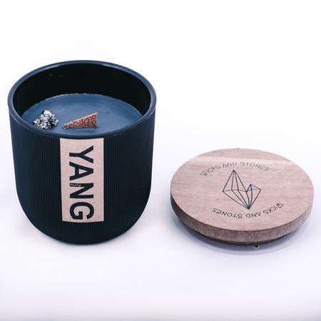 Wicks And Stones - Yang Candle