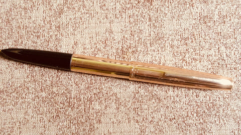 Brand New Original HERO 1990s Famous Model 340 Gold Fountain Pen