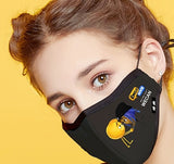 Special PM2.5 Protect Yourself & Your loved Ones Mask  Emoji