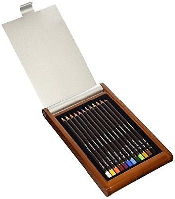 New Mitsubishi uni Pericia Artistic Colored Pencil Set 12pcs