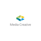 Media Creative Logo - Logo Cosmos