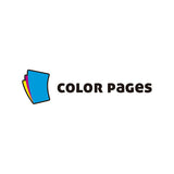 Color Pages Logo - Logo Cosmos
