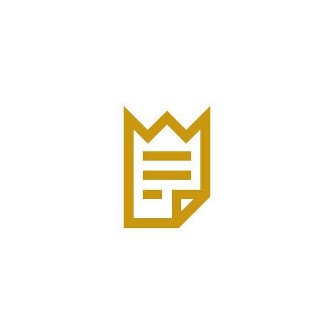 Docs Of King - Crown - Doc - King - Royal - Logo