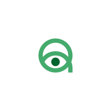 Quick View - Letter Q & Eye Logo - Logo Cosmos