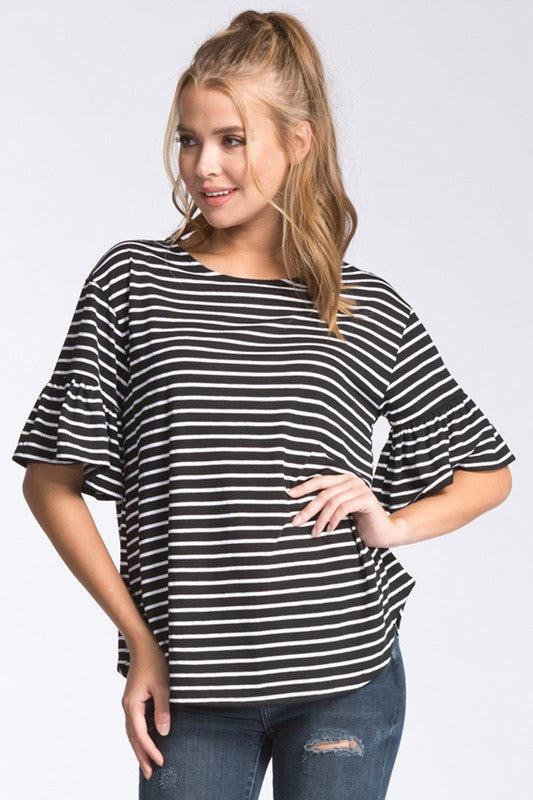 Stripe Me Up Top