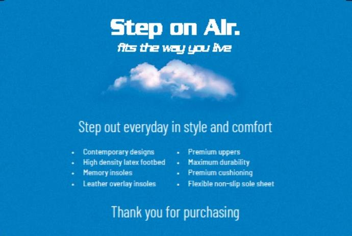 step on air shoes