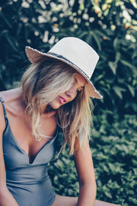 Morgan & Taylor Samantha Fedora Hat Pink - Global Free Style