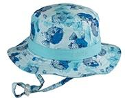 Dozer Boys Bucket Hat Bubble Blue - Global Free Style
