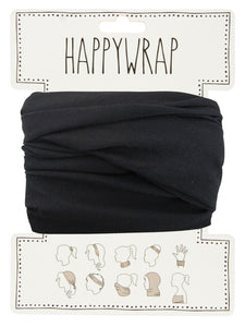 Annabel Trends Happy Wrap Black - Global Free Style