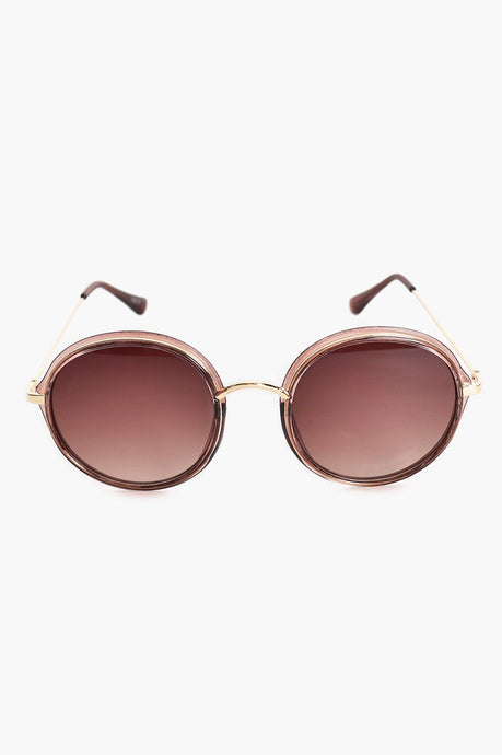 Adorne Tribecca Sunglasses Tan - Global Free Style