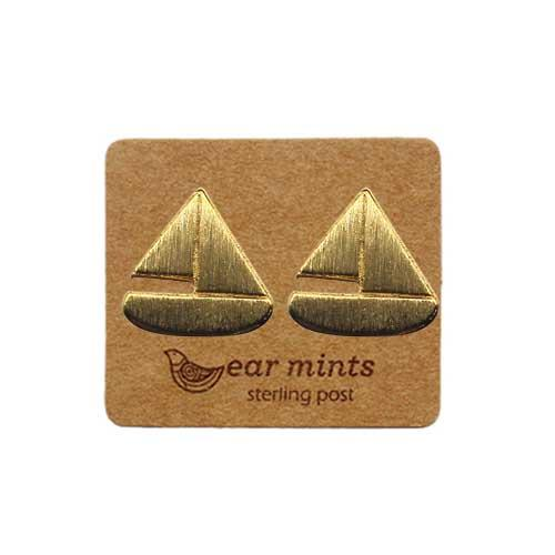 Ear Mints Sail Boat Earring 3 Colours - Global Free Style