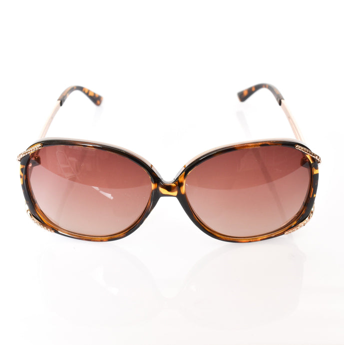 Adorne Goldie Fashion Sunglasses Tortosite Shell - Global Free Style