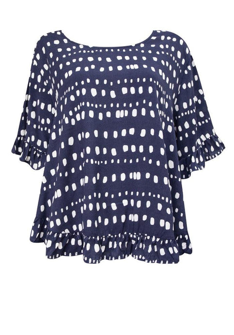 Label of Love Cali Top Navy - Global Free Style