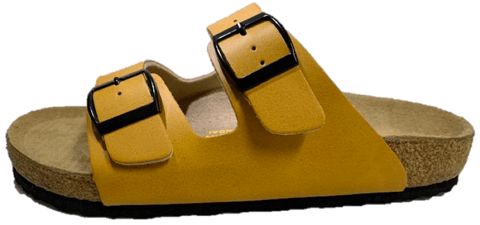 Neckermann Double Bar Shoes Mustard Yellow - Global Free Style