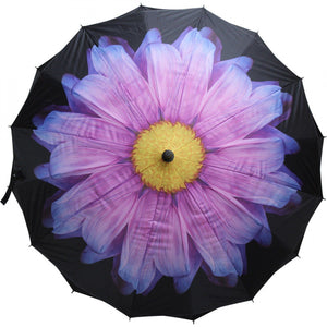 Lavida Umbrella Purple Flower - Global Free Style