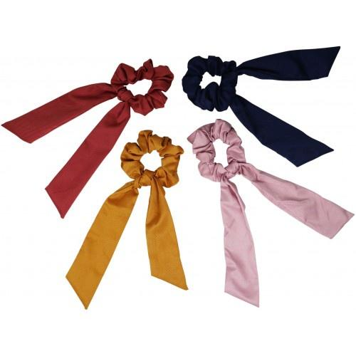 Urban Classic Tie Scrunchies 4 Colours - Global Free Style