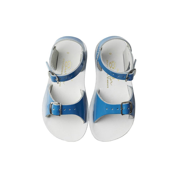 Salt Water Sun Sandal Surfer Shiny Turquoise Child - Global Free Style