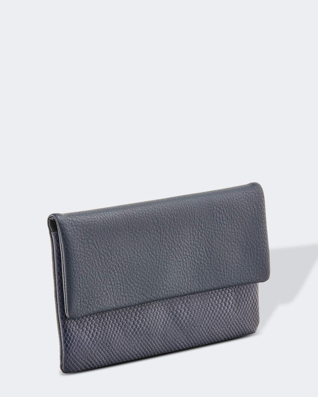 Louenhide Ziggy Snake Navy Wallet Purse - Global Free Style