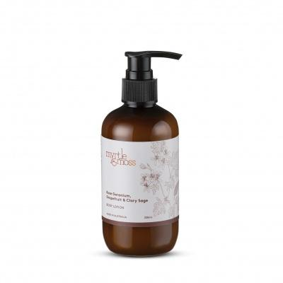 Myrtle & Moss Geranium Grapefruit and Clary Sage Body Lotion 250ml - Global Free Style