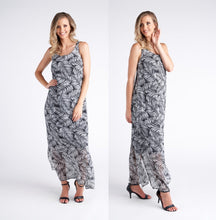 Vivid Palm Cove Chiffon Woven Long Dress - Global Free Style