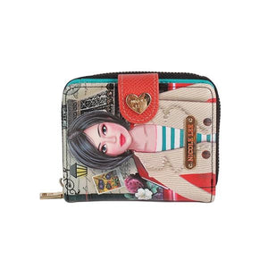 Nicole Lee Mini Printed Wallet Rue De Paris - Global Free Style