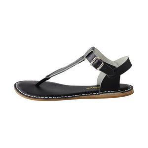 Salt Water Adult T-Thong Shoes Adult Black - Global Free Style