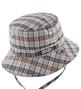 Baby Dozer Baby Boys Bucket Hat Duke Blue Check - Global Free Style